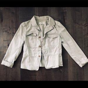 Loft tan jacket, Size 6